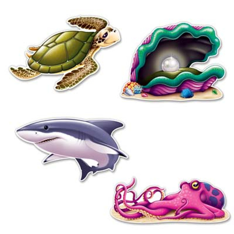 Under Sea Creature Cut Outs