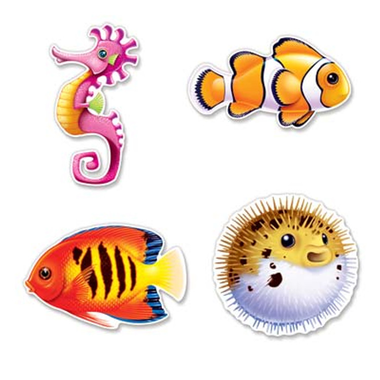 Under Sea Fish Cut Outs