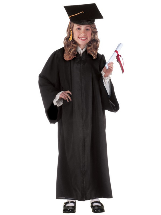 Graduation Robe Black Childs
