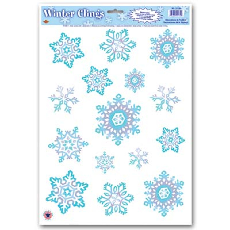Snowflake Clings Crystal