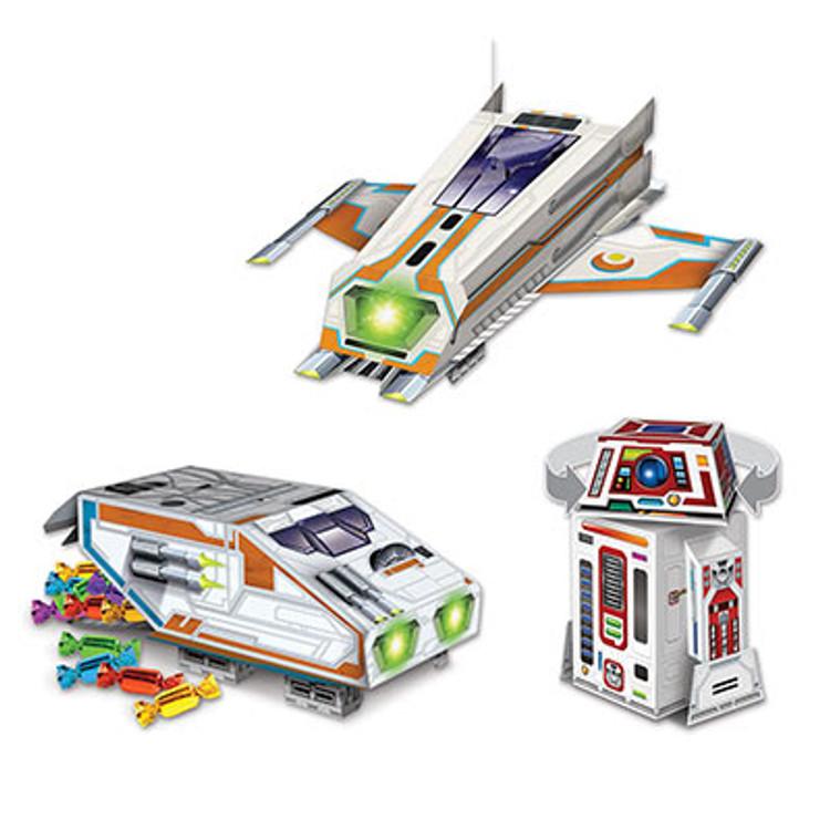 Spaceship Centrepeices