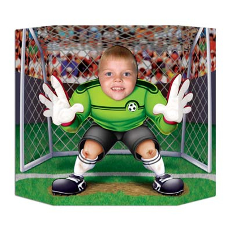 Soccer Player Photo Prop
