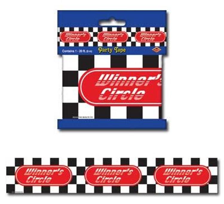 Winners Circle Caution Tape