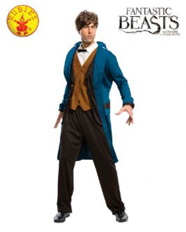 Harry Potter Newt Scamander Deluxe Adult Costume  sc 1 st  tipos de mapas : chinese food box costume  - Germanpascual.Com