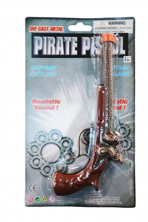 Pirate Pistol Die Cast