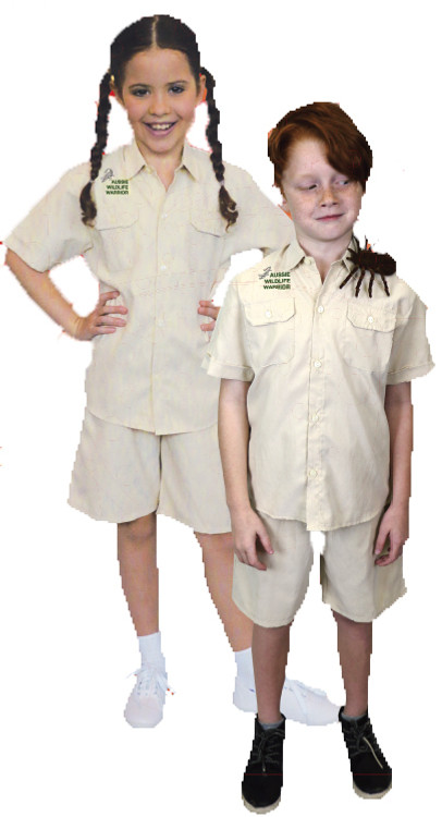 Aussie Wildlife Warrior Kids Costume