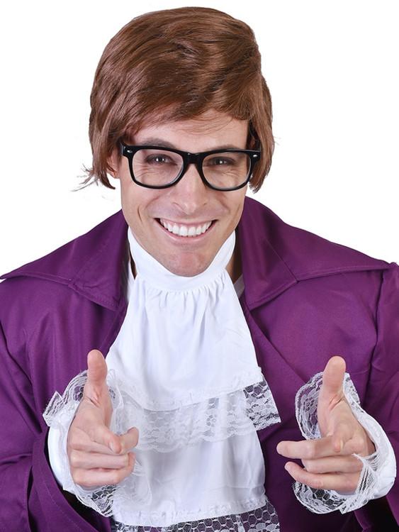 1960s Shaggy Austin Powers Wig