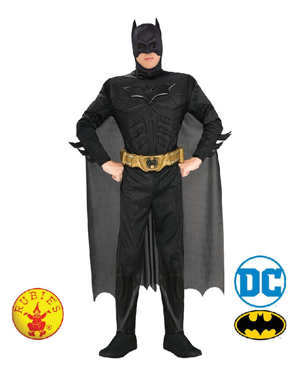 Batman - Deluxe Muscle Dark Knight Batman Mens Costume