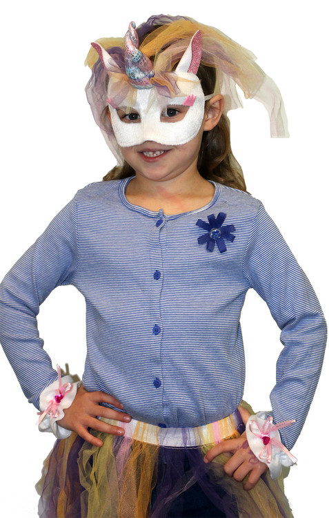 Unicorn Mask & Cuffs