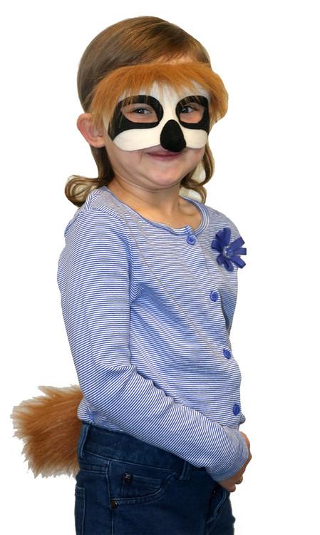 Sloth Mask & Tail Set