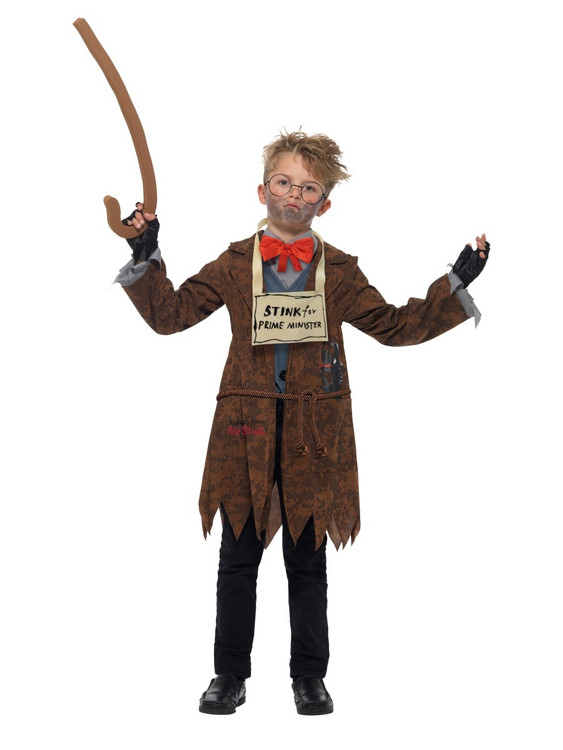 David Walliams Deluxe Mr Stink Kids Costume