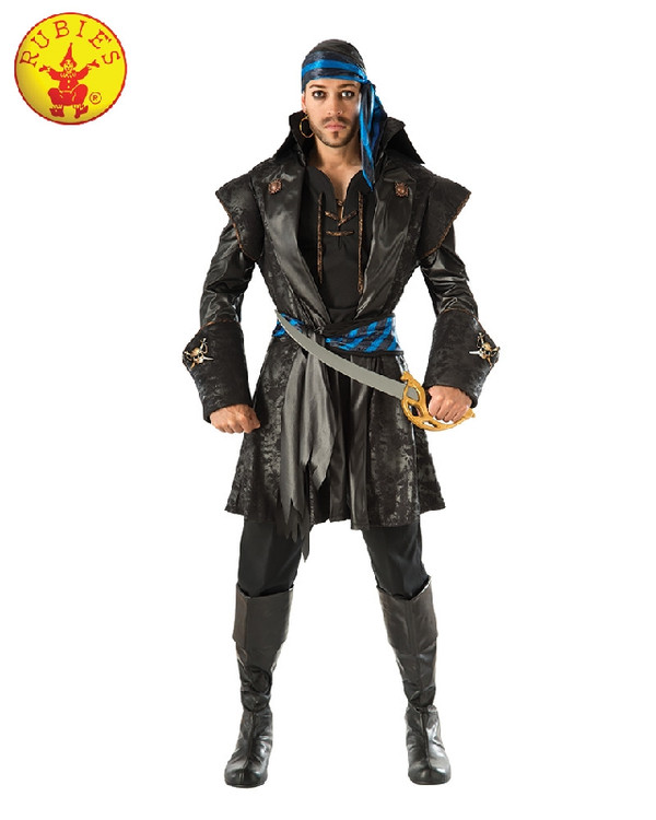 Pirate - Captain Blackheart Mens Costume
