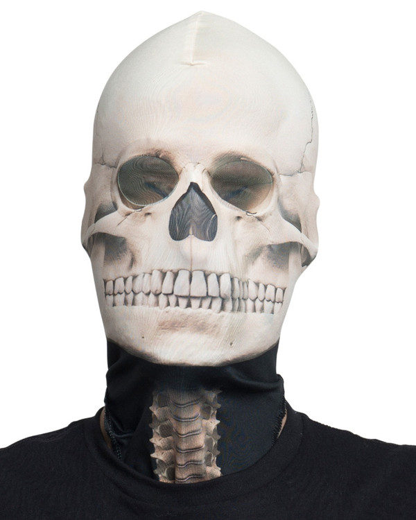 Skeleton Mask Faux Real