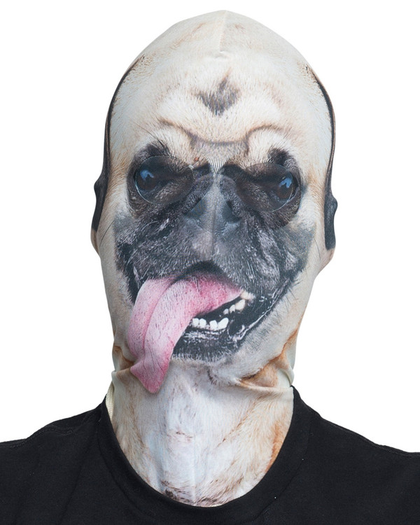 Pug Mask Faux Real