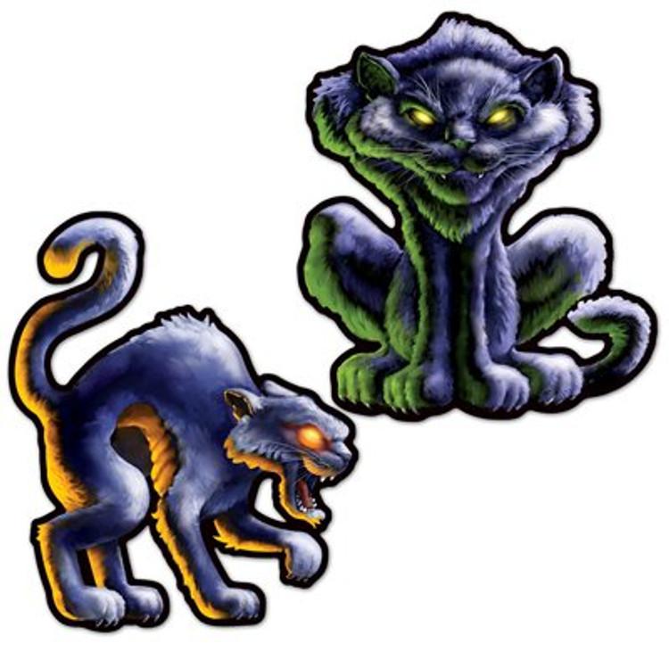 Black Cat Cut Out