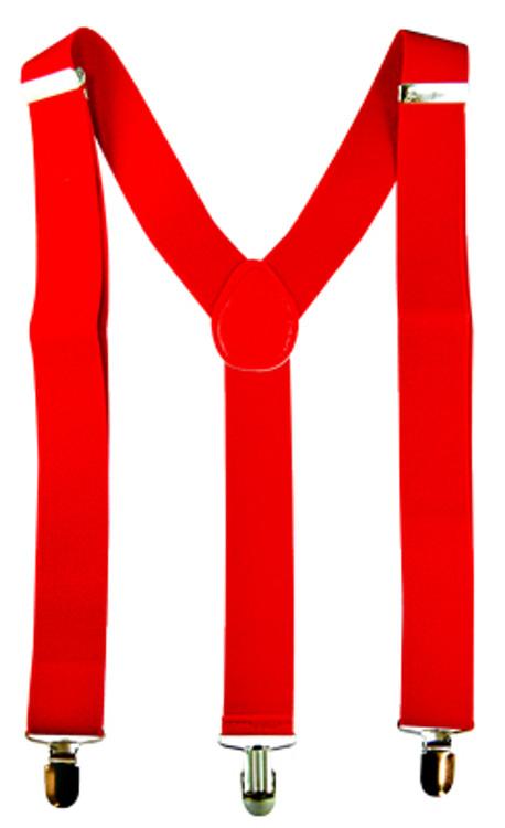 Braces Suspenders - Red