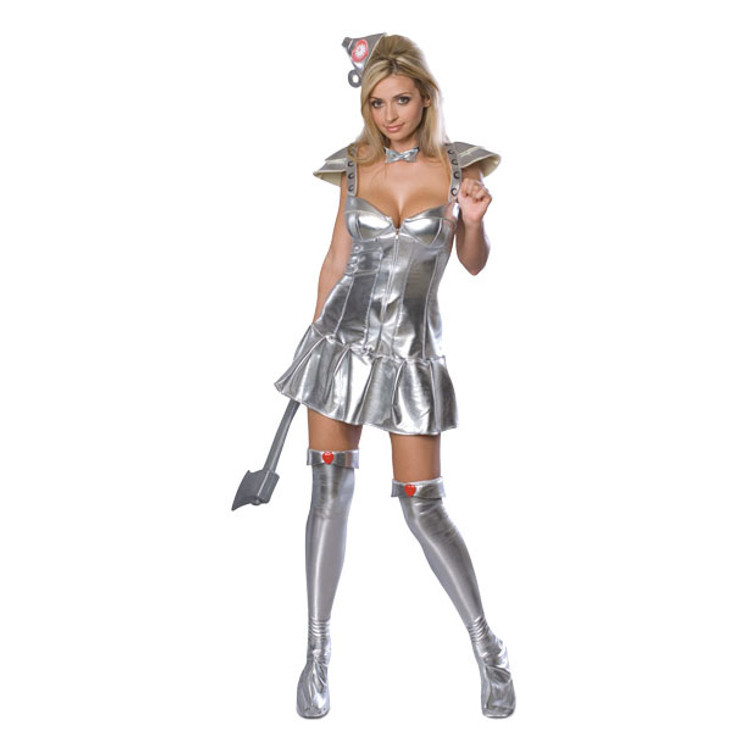 Tin Woman Wizard of OZ Womens Costume