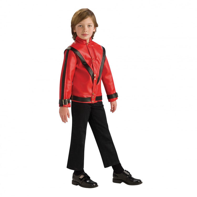 Michael Jackson Boys Deluxe Thriller Costume