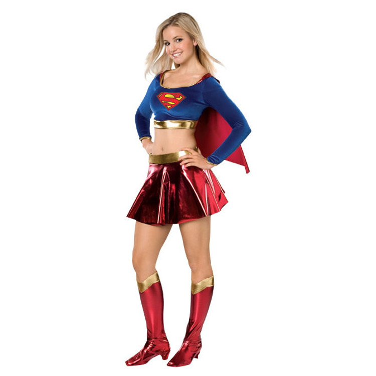 Supergirl Teen Superhero Girls Costume
