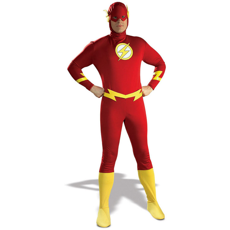 The Flash Adult Mens Costume (From Justice League)