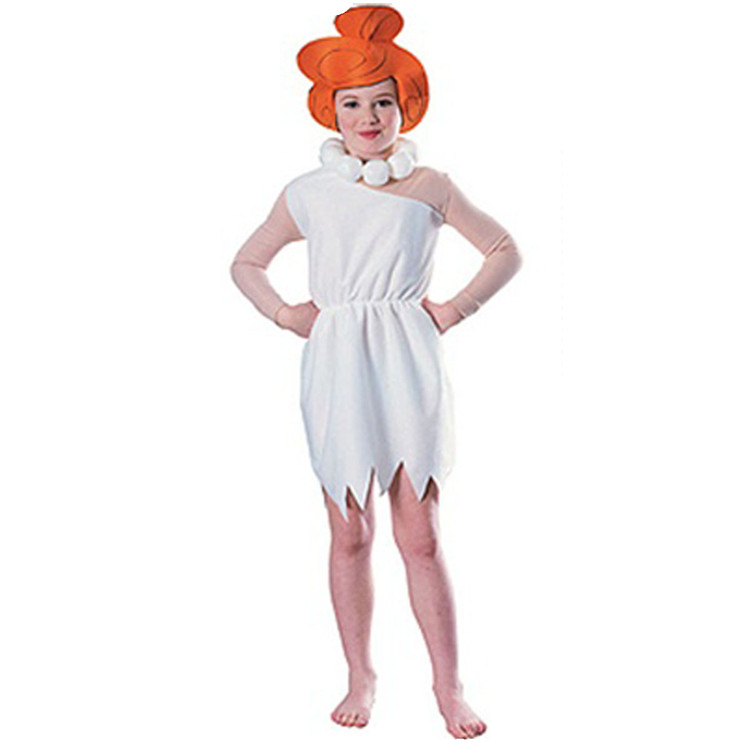 Wilma Flintstone Girls Costume