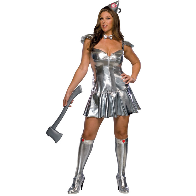 Tin Woman Wizard of OZ Plus Size Womens Costume