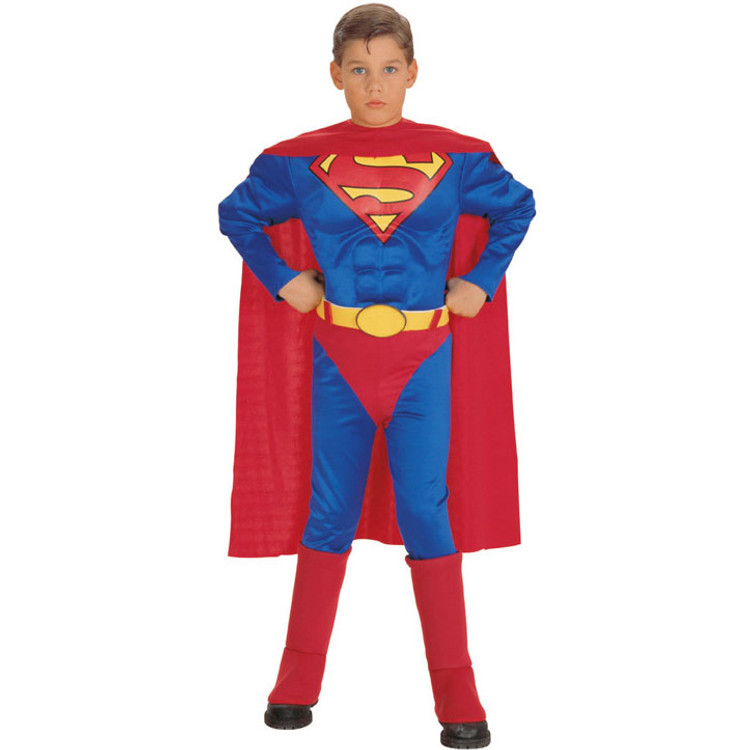 Superman Superhero Deluxe MC Boys Costume