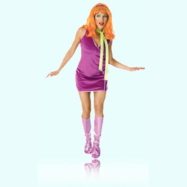 Scooby Doo- Daphne Womens Costume  sc 1 st  Costume Direct & Cartoon Character Costumes | Online Cartoon Superhero Costumes ...
