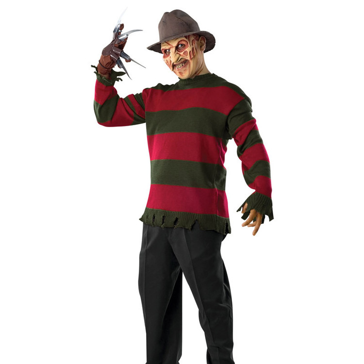 Freddy Krueger Deluxe Mens Sweater Plus Size