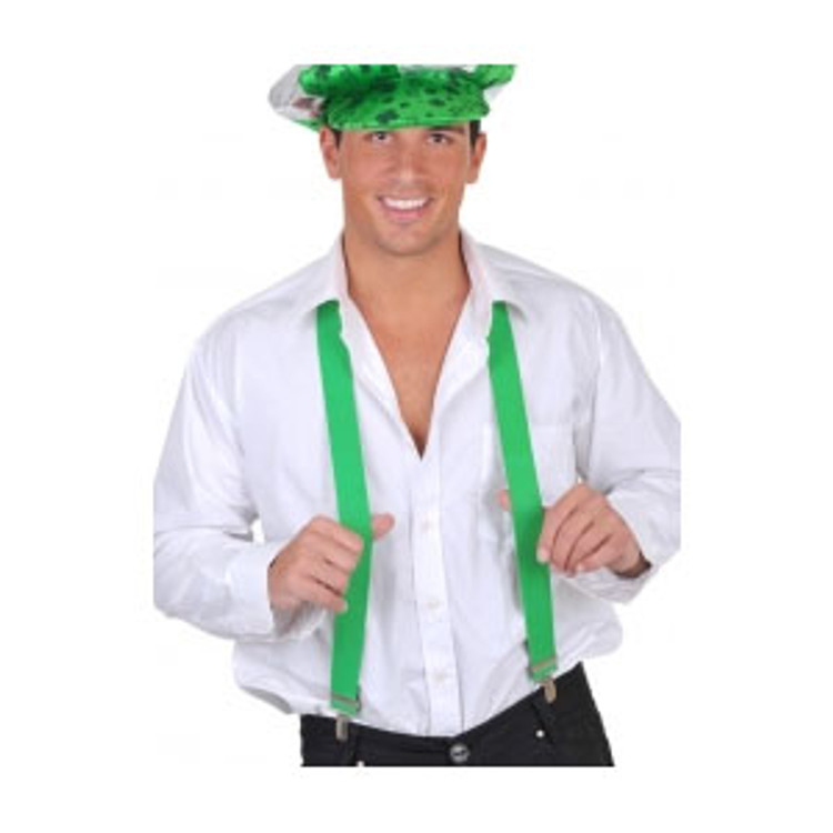 Braces Suspenders - Green
