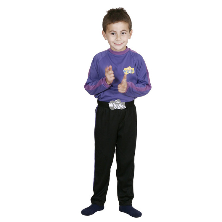 Wiggles Purple Wiggle Toddler Costume