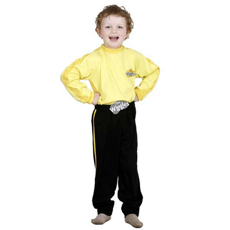 Wiggles Yellow Wiggle Toddler Costumes