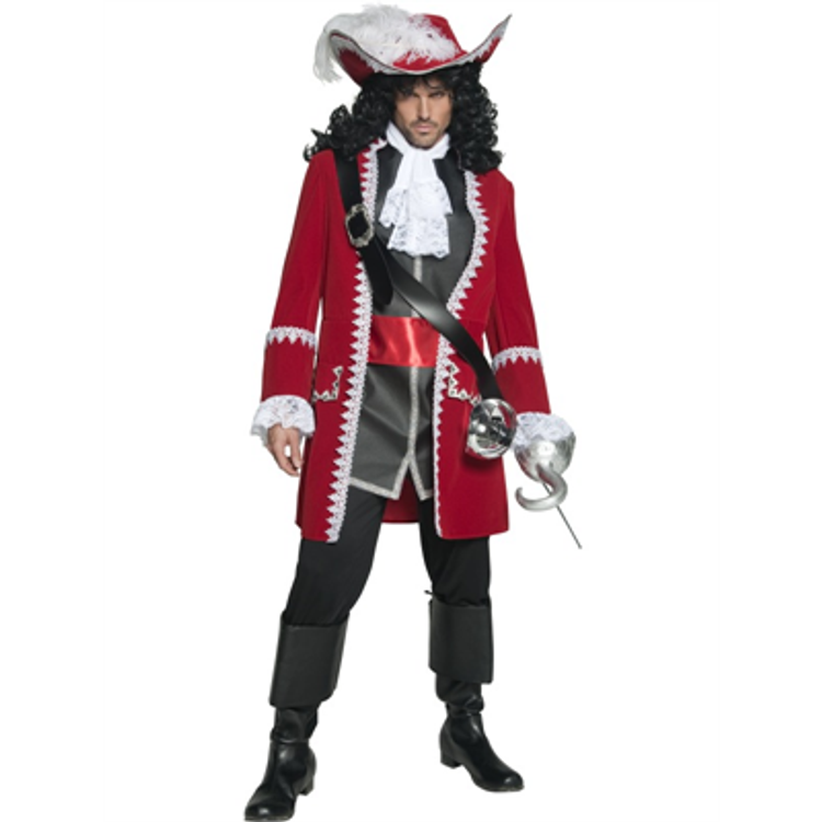 Pirate Captain Authentic Costume