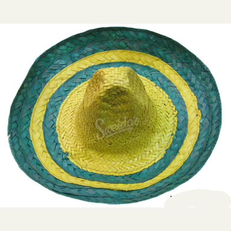 Sombrero Mexican Hat - Green Yellow