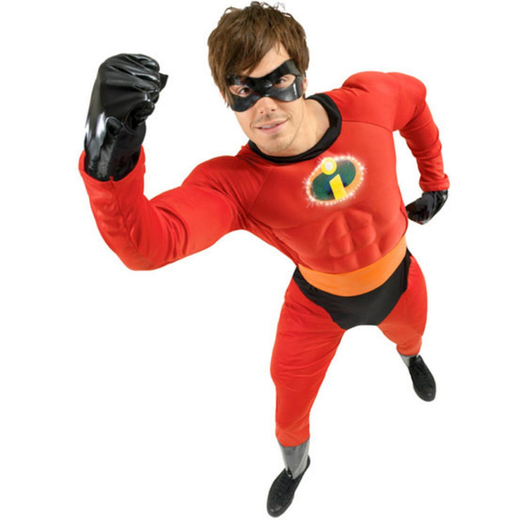 The Incredibles - Mr Incredible Mens Costume