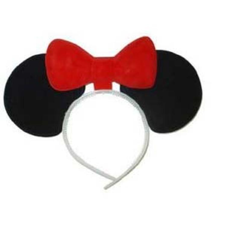 Headband - Minnie Mouse Headband with Bow