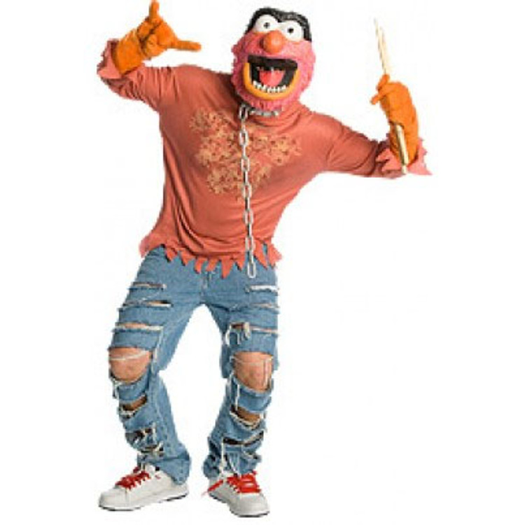MUPPETS ANIMAL  Mens Costume