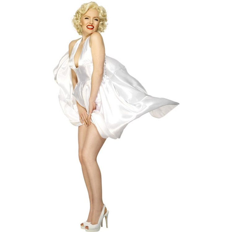 Marilyn Monroe Classic Halterneck Womens Costume
