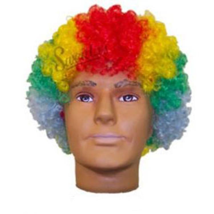 Clowns Rainbow Wig