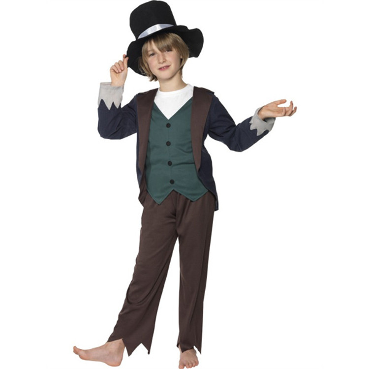 Colonial Victorian Poor Boy Costume