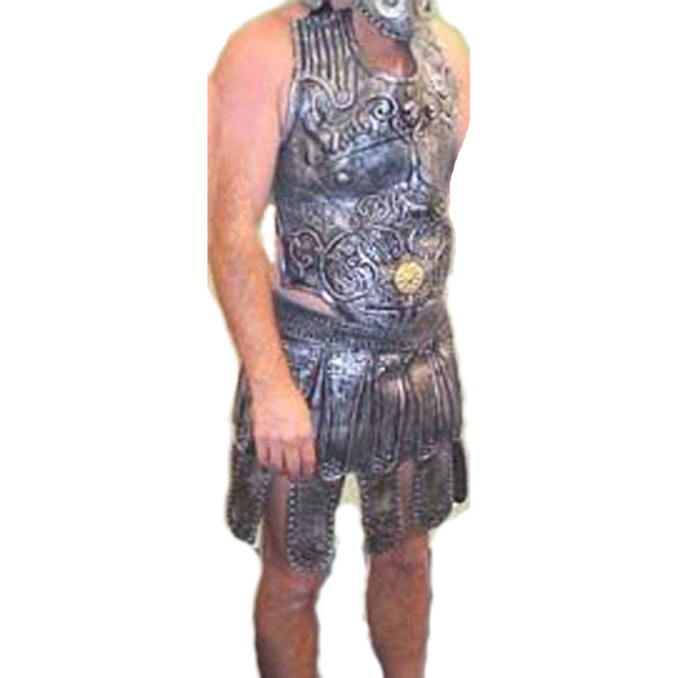 Roman Breast Plate and Skirt Mens Costumes