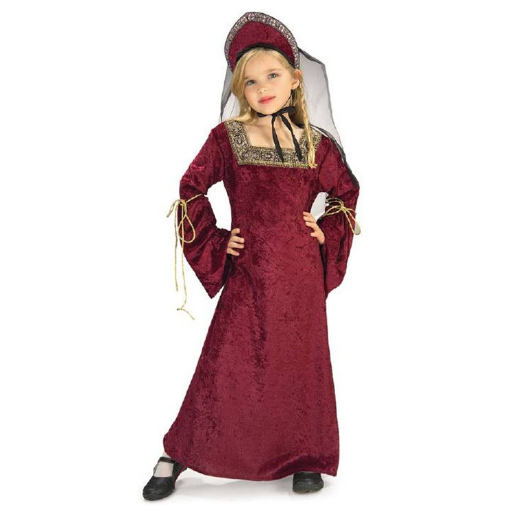 Lady Of The Palace Medieval   Renaissance Girls Costume