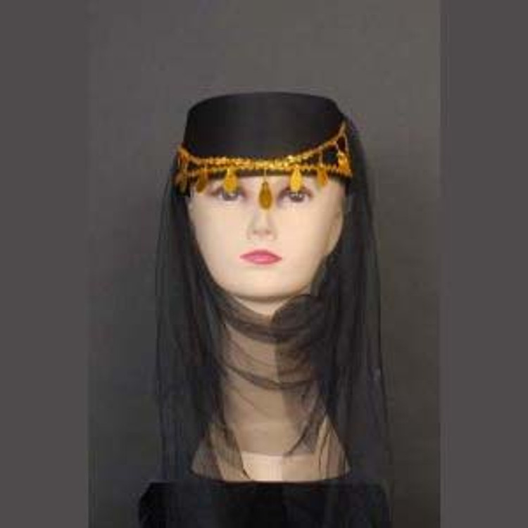 Harem Hat - Black