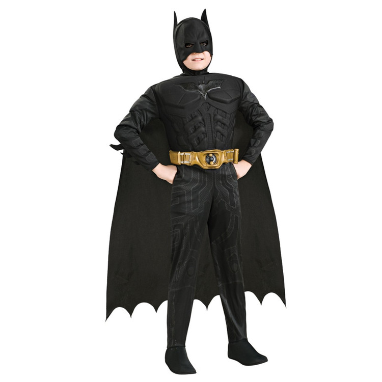 Batman - Dark Knight Rises Deluxe Muscle Chest Child Costume  sc 1 st  Costume Direct & Batman Costumes and Batgirl Costumes   Costume Direct