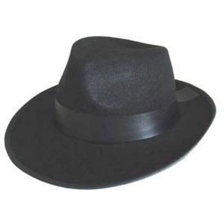 Fedora - Gangster Blue Bros Feltex Hat
