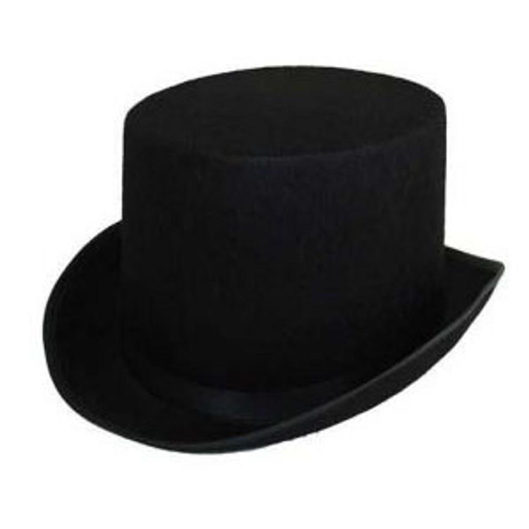 Top Hat - Feltex Black