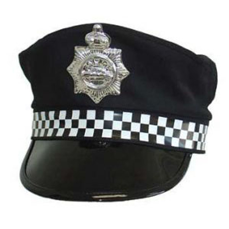Police Hat - UK Style