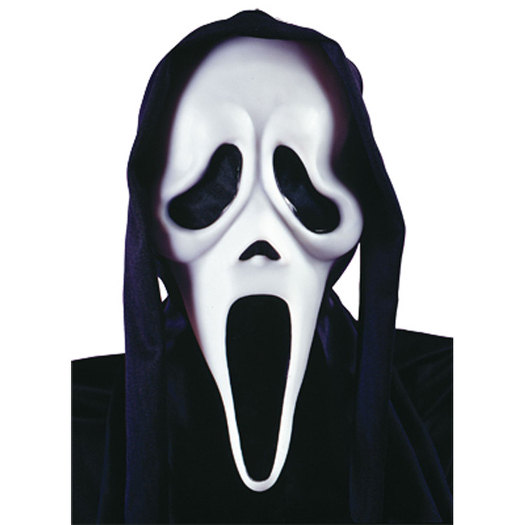 Scream Mask w Shroud