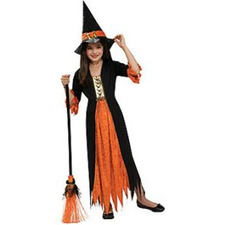 Gothic Witch Girls Costume