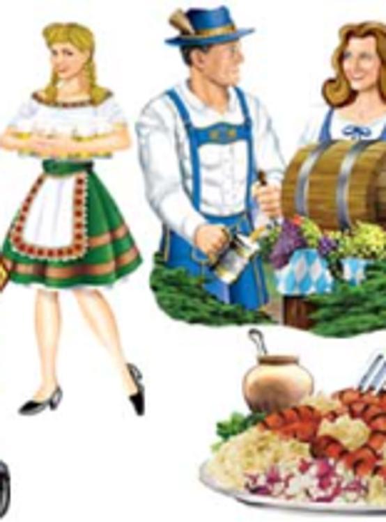 Oktoberfest Cut Out 41cm Pkt 4